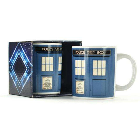 "Mug Doctor Who ""Tardis"""