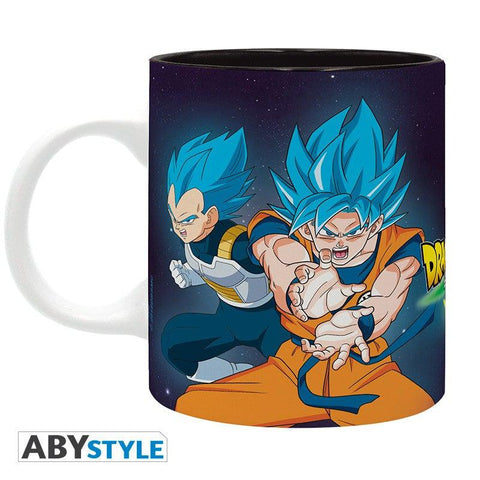 Mug Dragon Ball Super - Broly vs Goku et Vegeta