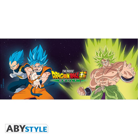 Mug Dragon Ball Super - Broly vs Goku et Vegeta-Very Bad Geek