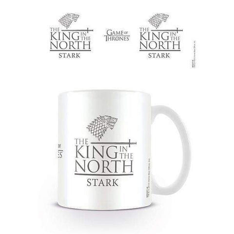 "Mug ""King in the North"" - Game of Thrones - Roi Du Nord"