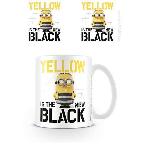 "Mug Minions ""Yellow is the New Black"""