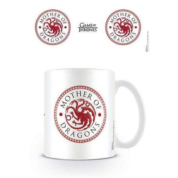 "Mug ""Mother of Dragons"" - Game of Thrones"
