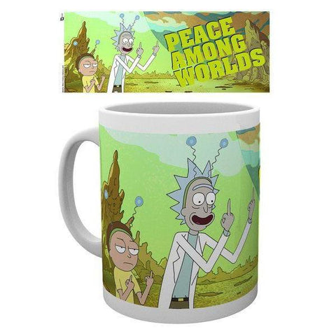 "Mug Rick and Morty ""Peace Among Worlds"""