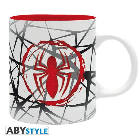 "Mug Spider-Man ""toile design"""