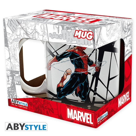 "Mug Spider-Man ""toile design""-Very Bad Geek"