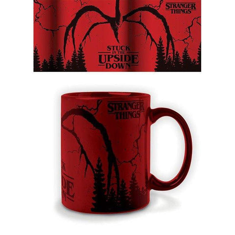 "Mug Stranger Things - Mind Flayer ""effet métallique"""