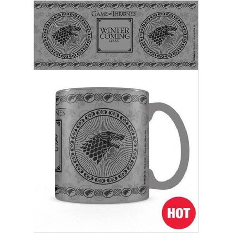 "Mug Thermo-Réactif Game of Thrones ""Stark"""