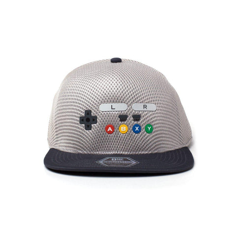 "Casquette Snapback Nintendo ""Super Nes""-Very Bad Geek"