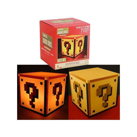 "Lampe Super Mario Bros ""Question Block"" USB-Very Bad Geek"