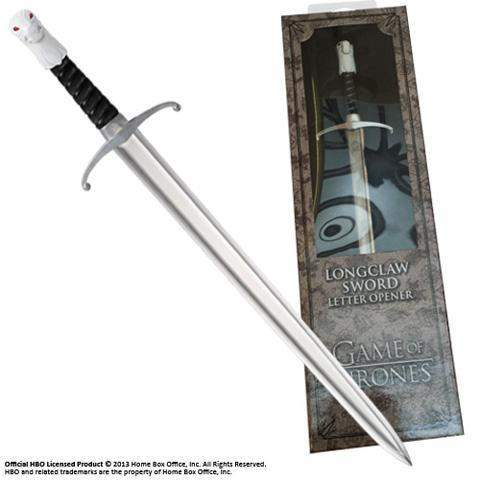 "Ouvre-lettres Réplique ""Grand-Griffe (Longclaw)"" - Game of Thrones"