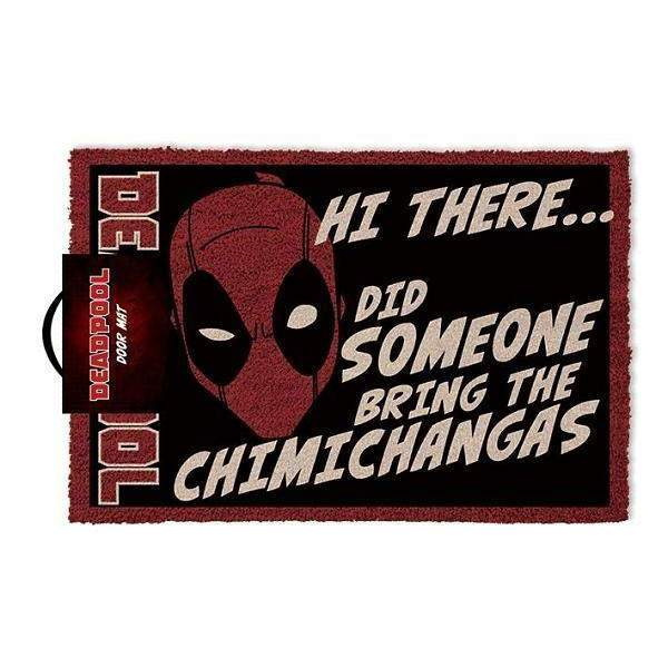 "Paillasson ""Chimichangas"" - Deadpool"