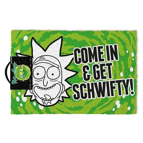 "Paillasson ""Get Schwifty"" - Rick and Morty"