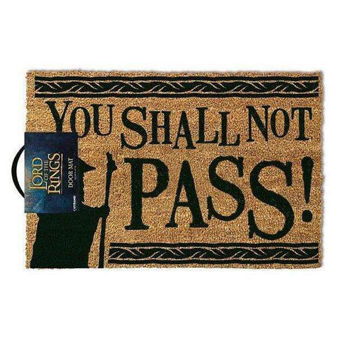 "Paillasson ""You Shall Not Pass"" - Seigneur des Anneaux-Very Bad Geek"