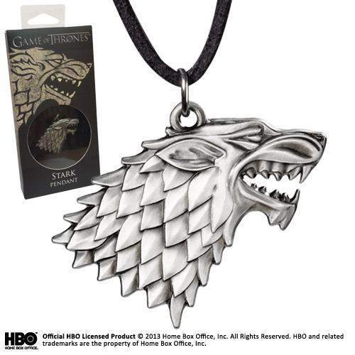 "Pendentif ""Stark"" Game of Thrones"