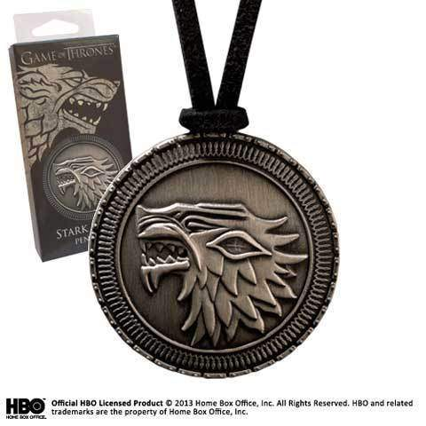 "Pendentif ""Bouclier Stark"" Game of Thrones"