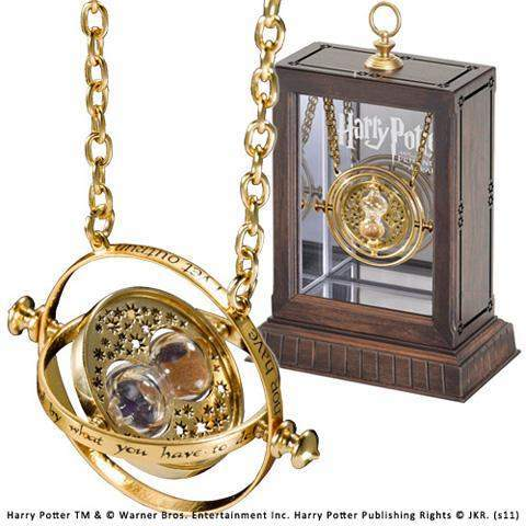 "Collier pendentif d'Hermione ""Retourneur de Temps"" réplique Harry Potter-Very Bad Geek"