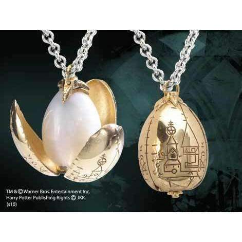 "Collier pendentif Harry Potter ""Oeuf d'Or"" avec support"