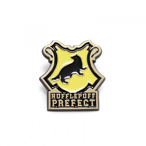 "Pin's Poufsouffle ""Préfet"" metal - Harry Potter-Very Bad Geek"