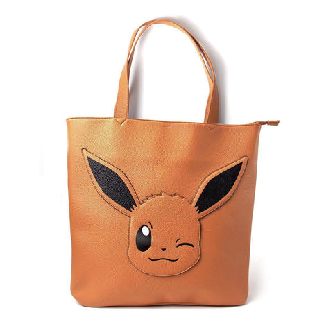 Sac à main Pokémon Deluxe - Tote Évoli-Very Bad Geek