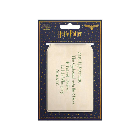 Porte-cartes ''Lettre d'acceptation'' - Harry Potter-Very Bad Geek