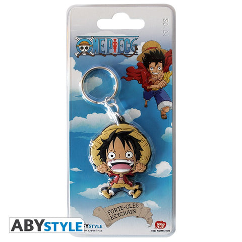 "Porte-clés One Piece ""Luffy""-Very Bad Geek"