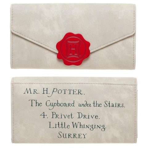 Portefeuille Lettre de Poudlard - Harry Potter-Very Bad Geek
