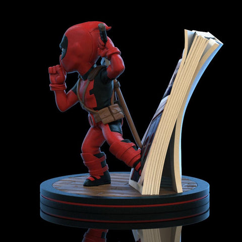 Q-Fig Deadpool - Comic Book-Very Bad Geek