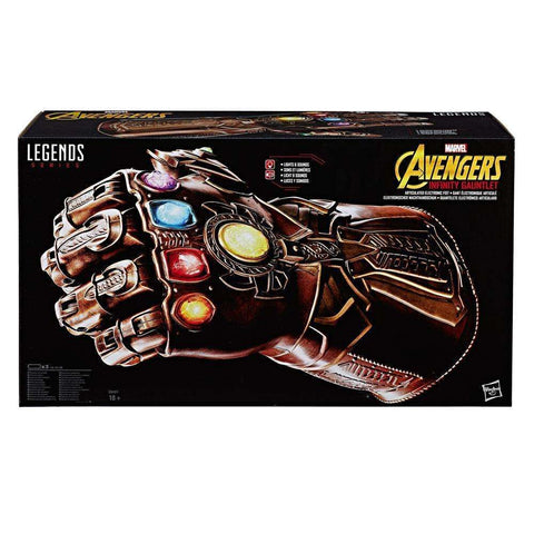 Gant de l'Infini électronique Avengers Infinity War - Hasbro Marvel Legends-Very Bad Geek