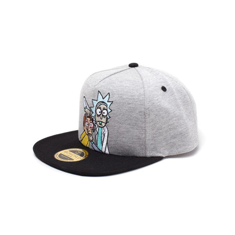 "Casquette Snapback Rick and Morty ""Open Your Eyes""-Very Bad Geek"