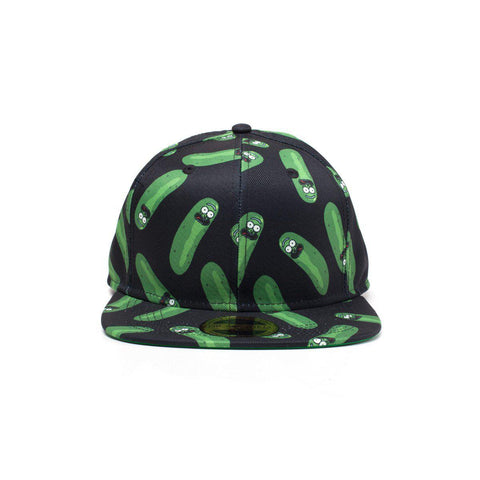 "Casquette Snapback Rick and Morty ""Pickle Rick"""