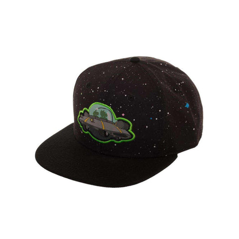 "Casquette Snapback Rick and Morty ""Spaceship"""