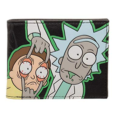 "Portefeuille Rick and Morty ""Glow in the Dark"""