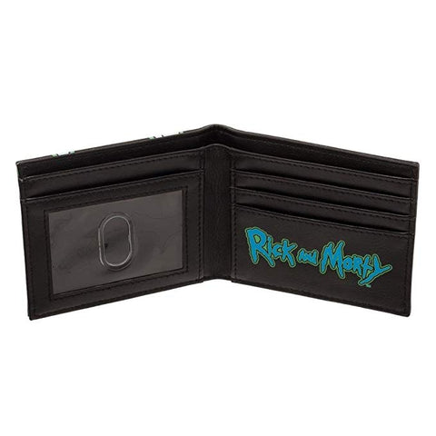 "Portefeuille Rick and Morty ""Glow in the Dark""-Very Bad Geek"