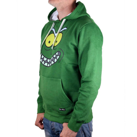 "Sweat à Capuche Pickle Rick ""Rick and Morty"" - Hoodie Unisexe"