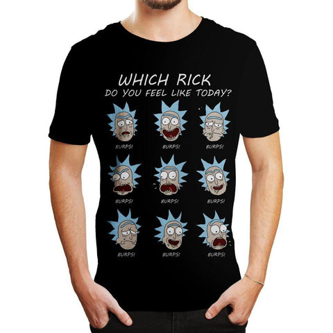 "T-Shirt Rick and Morty unisexe ""Which Rick""-Very Bad Geek"