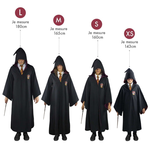 "Robe de Sorcier ""Gryffondor"" - Harry Potter-Very Bad Geek"