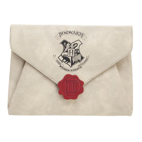 Sac à main Harry Potter Deluxe - Lettre de Poudlard-Very Bad Geek