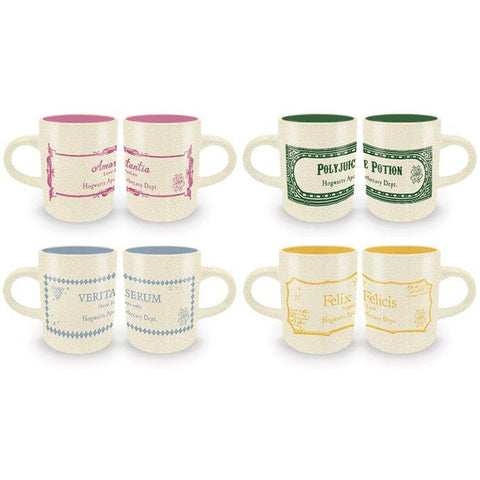 Set de 4 tasses espresso Potions - Harry Potter