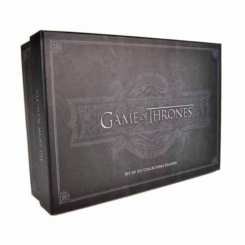 Coffret 4 Shooters Game of Thrones Collector