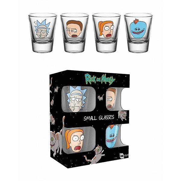 "Verres Shooters Rick and Morty x4 - ""Rick, Morty, Summer, Meeseeks"""