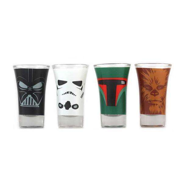 Verres Shooters Star Wars x4 -