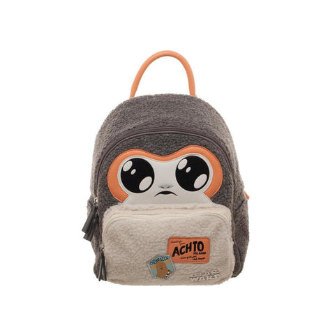 "Mini sac à dos Star Wars Deluxe ""Porg""-Very Bad Geek"