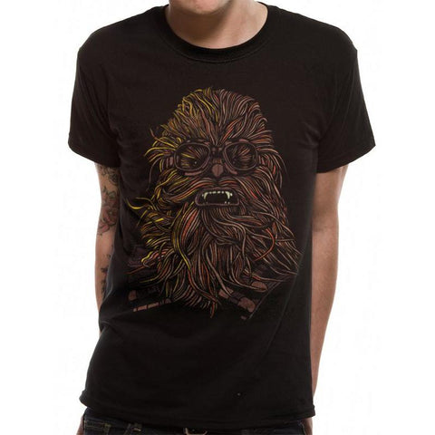 "T-Shirt Unisexe - Star Wars - Solo ""Chewbacca""-Very Bad Geek"