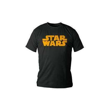 "T-Shirt Star Wars ""Logo Orange"""