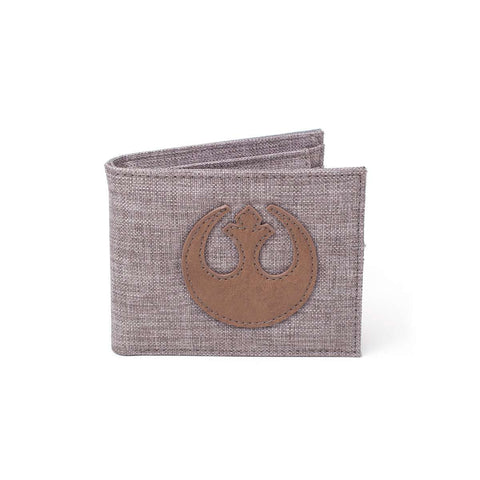 "Portefeuille Star Wars ""Alliance Rebelle"" en toile-Very Bad Geek"