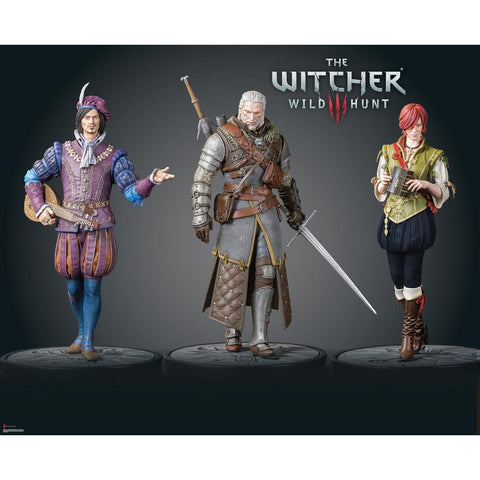 Statuette The Witcher 3 - Shani 20cm-Very Bad Geek