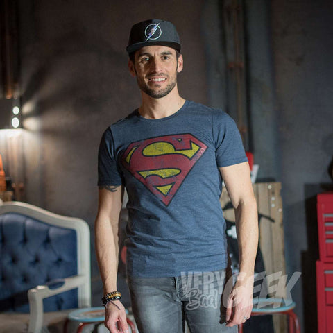 "T-Shirt Superman unisexe ""Grunge"" - DC Comics"