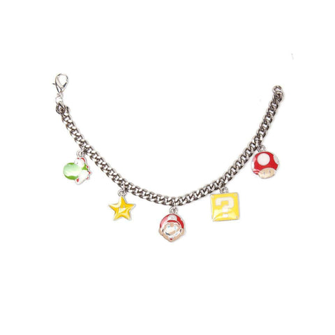 "Bracelet Nintendo Super Mario ""Personnages""-Very Bad Geek"