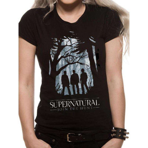 "T-Shirt Femme - Supernatural ""Join the Hunt"""