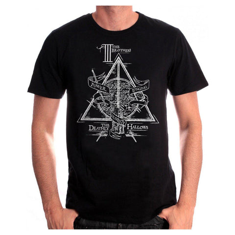 T-Shirt ''Reliques de la Mort'' unisexe - Harry Potter-Very Bad Geek